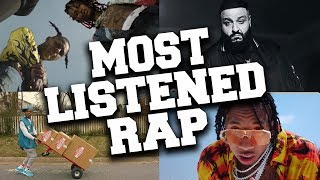 Top 50 Most Listened Rap Songs in June 2019