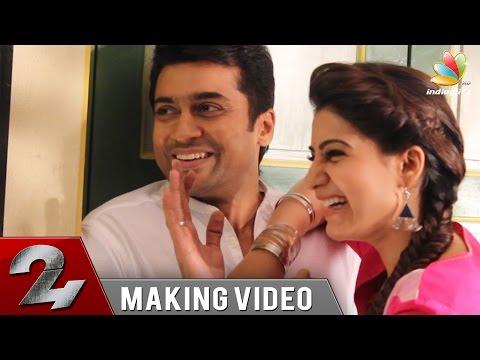Surya's 24 Movie Making | Samantha, Nithya Menen, Vikram Kumar