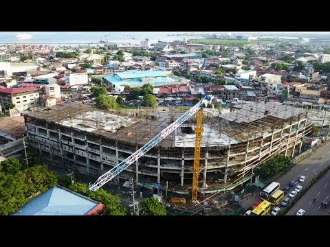 AERIAL: Construction of Cebu City Medical Center