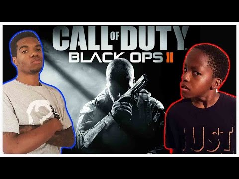 NAPPY HEADED BOY GOT GUN SKILLS !! - Black Ops 1 v 1 (Round 1) #ThrowbackThursday ft. Juice & Trent