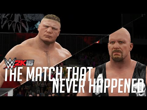 THE MATCH THAT NEVER HAPPENED - WWE 2K16 Special Objective