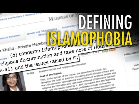 "Canada's anti-""Islamophobia"" motion doesn't define it"