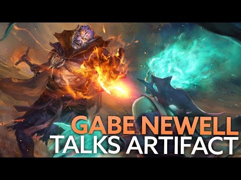 Gabe Newell discusses Artifact at Valve HQ