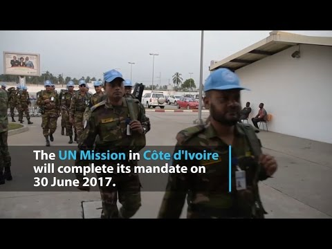 UN mission in Côte d'Ivoire completes mandate