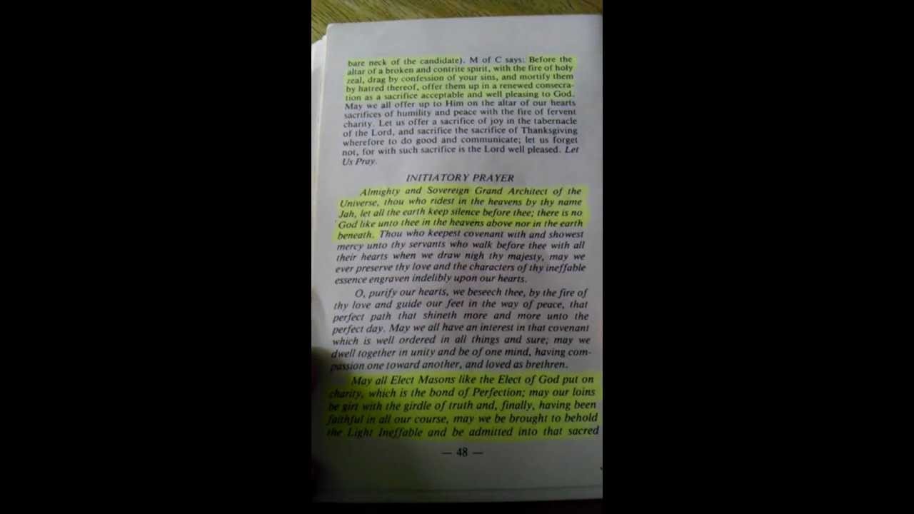 Freemason Book Pdf