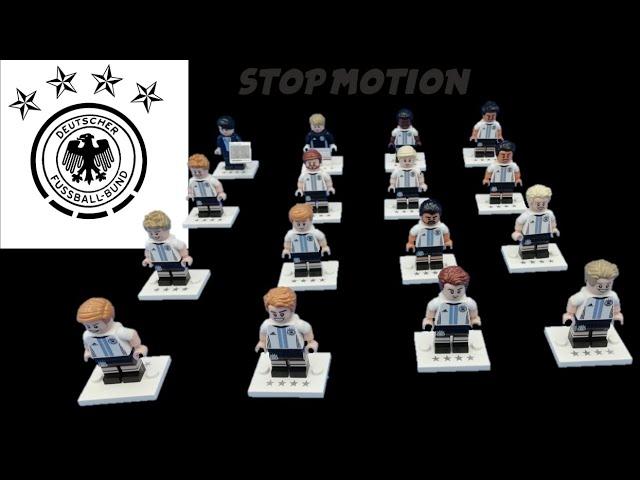 Lego 71014 DFB Minifiguren | Stop Motion