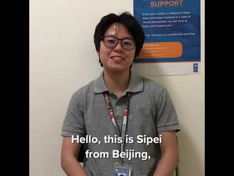 Sipei Liu, UN Volunteer @UNDP China Working On Project To Develop & Commercialize Fuel Cell Vehicles