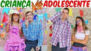 Baixar CRIANÇA VS ADOLESCENTE NA FESTA JUNINA!