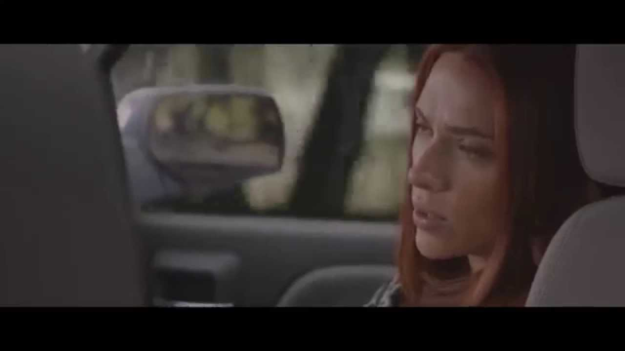 Captain America: The Winter Soldier  Steve and Natasha scene