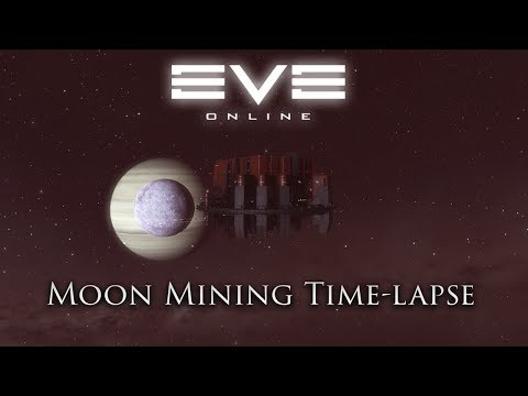 Eve Online: Moon Mining Time Lapse | With Sound