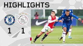 Highlights Chelsea U19 - Ajax U19 | UEFA Youth League