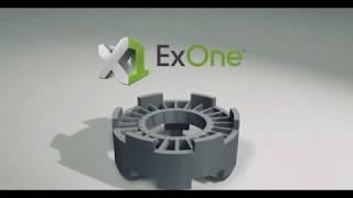 ExOne Metal Binder Jet 3D Printing Process