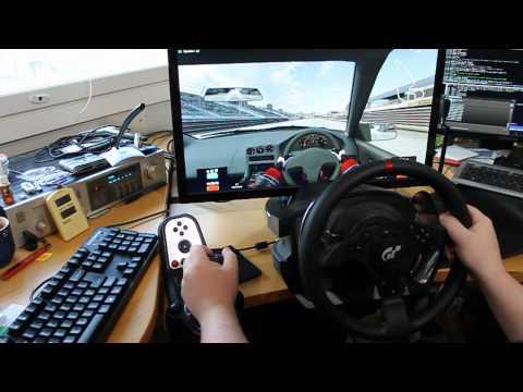 LFS - Thrustmaster T500RS 1080º - Newbie at the wheel