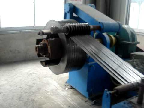 Steel Coils Slitting Machine Youtube