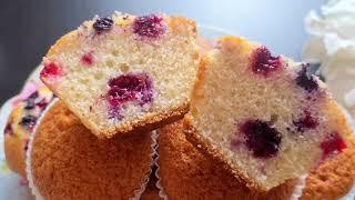 Самые Ровные Ванильные Капкейки Для Крема. Лучший Рецепт! The Best Vanilla Cupcakes.