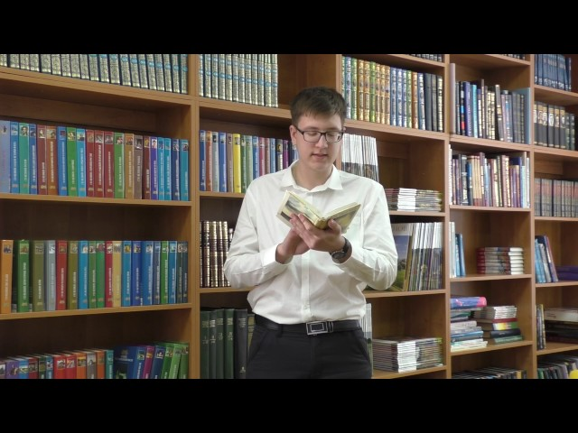 Изображение предпросмотра прочтения – КонстантинТимофеев читает произведение «Цицерон» Ф.И.Тютчева