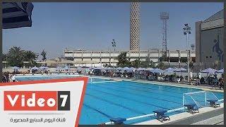 فى غياب طاهر.. افتتاح حمام السباحة الأوليمبى بالنادى الأهلى بعد تطويره