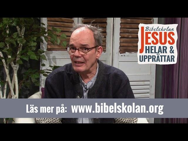Niels vittnesbörd från Arkens bibelskola Jesus Helar och Upprättar