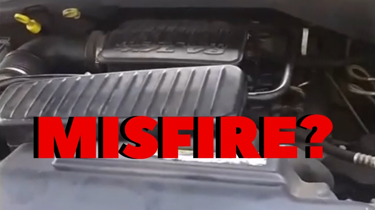 2004 Dodge Durango 4 7 P0306 Cylinder 6 Misfire Caused By Water From Windshield