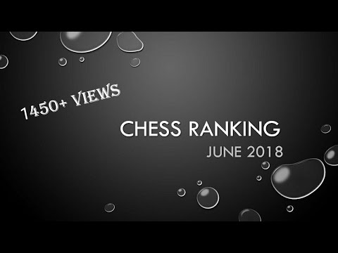 Chess ranking top players ( June 2018 )