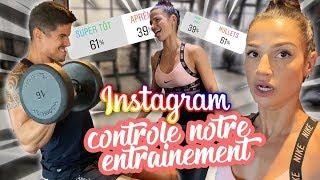 INSTAGRAM CONTROLE NOTRE ENTRAINEMENT !!! C'EST LA CATA !!!