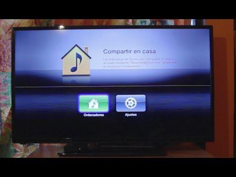 apple tv solo muestra ordenadores y ajustes: Solución