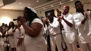 Vincent Bohanan & SOV Pentecostal Power Service - Nadja Scott & Divine Anointing