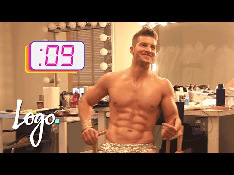 Meet the Dancers: Brandon | 'Gay For Play' Game Show Starring RuPaul | Logo