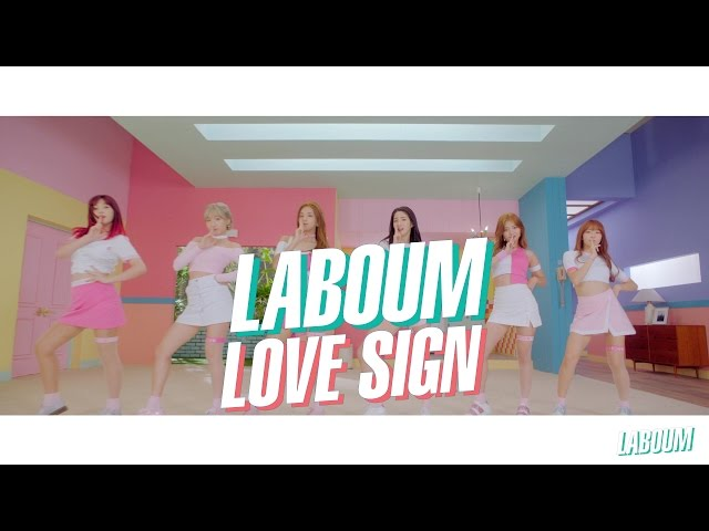 "LABOUM(라붐)- ""푱푱(Shooting Love)"" M/V"