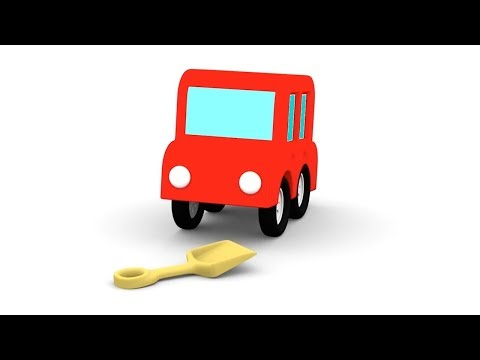Thumbnail: Cartoon Cars -YELLOW CAR RESCUE! - Cartoons for Children - Children's Animation Videos for kids