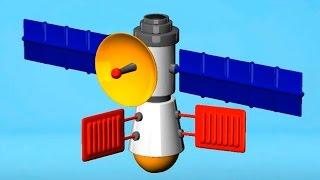 Играем в конструктор: Космическая станция - космос для детей! Развивающее видео - Игры для детей!(Играем в конструктор с малышами! Сегодня мы будем собирать космическую станцию! Нам понадобятся: специальн..., 2015-03-07T11:59:18.000Z)