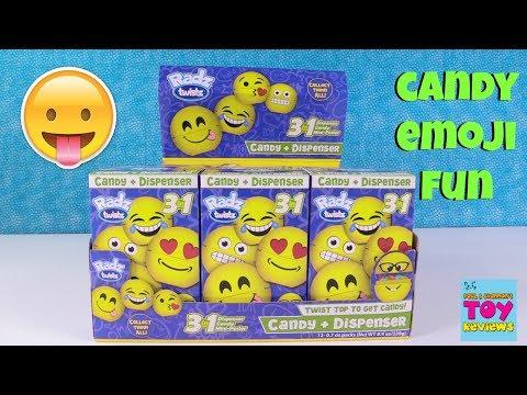 Radz Twistz Emoji Candy Dispenser Limited Edition Blind Box Toy Opening | PSToyReviews