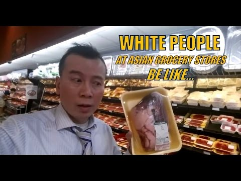 When White People Shop at Asian Grocery Stores