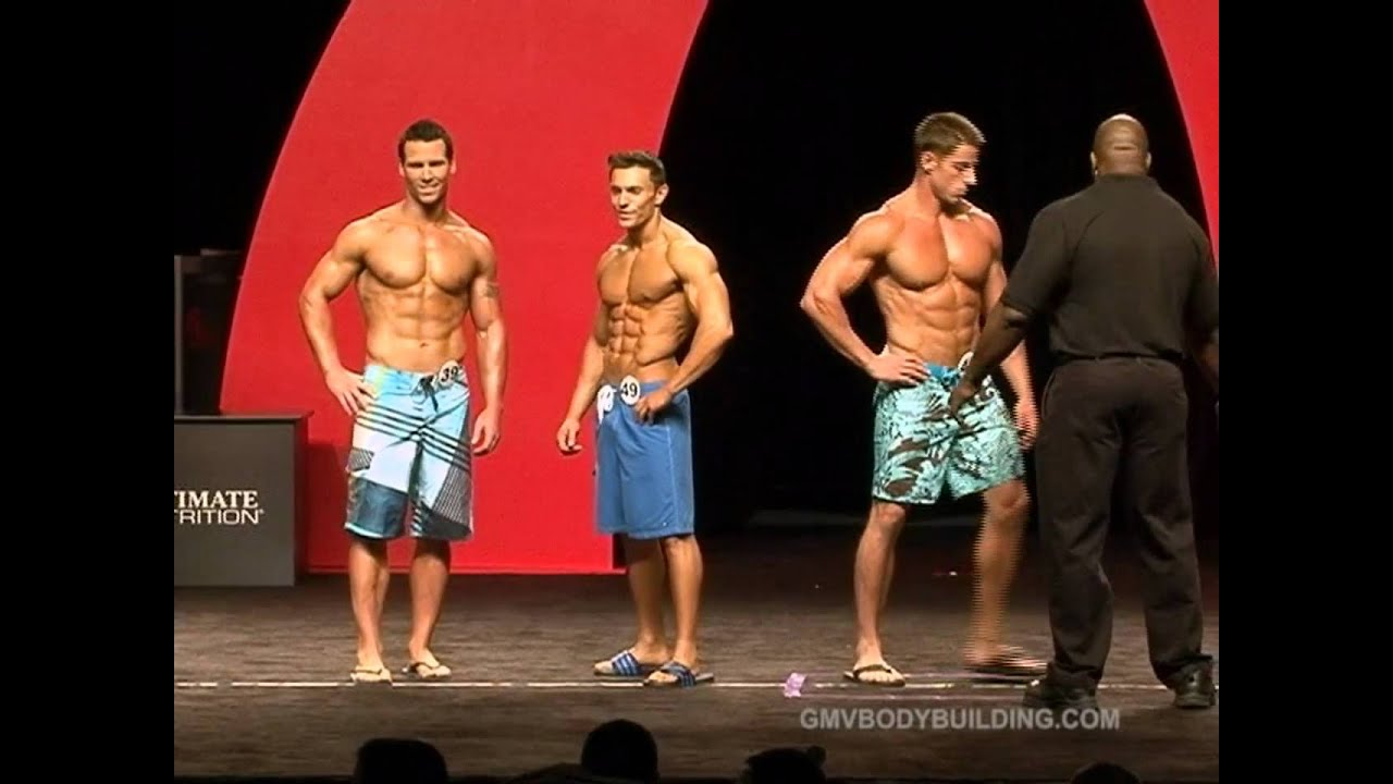 Muscle and Fitness Men's Physique Contest Held at Olympia ...