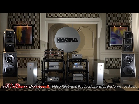 NAGRA Classic and HD Line and Wilson Audio Alexx with Kronos, Transparent, HRS, CES 2017