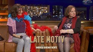 LATE MOTIV - Marisol Ayuso  es Doña Eugenia y Aída es... ¡Silvia Abril!   #LateMotiv173