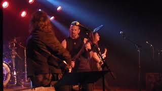 David Ellefson & Bumblefoot Basstory Iron Maiden cover 11/23/18