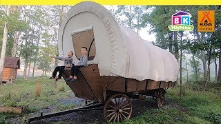 Covered Wagon Camping with Kids   Life on the Oregon Trail