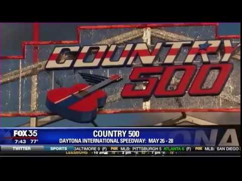 Country 500 at the Daytona International Speedway