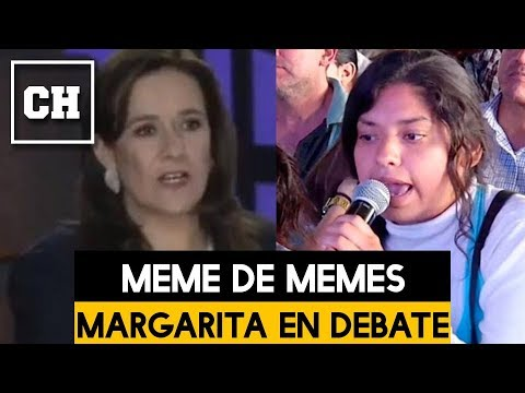 MOMENTO en que AMLO se burla de Margarita en el Debate Presidencial - Carlos Chavira
