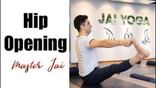 30 minutes Hip opening  yoga pose with Master Ajay