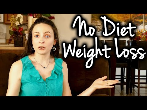 Lose Weight w/out Dieting – No Diet Healthy Eat Weight Loss Tips