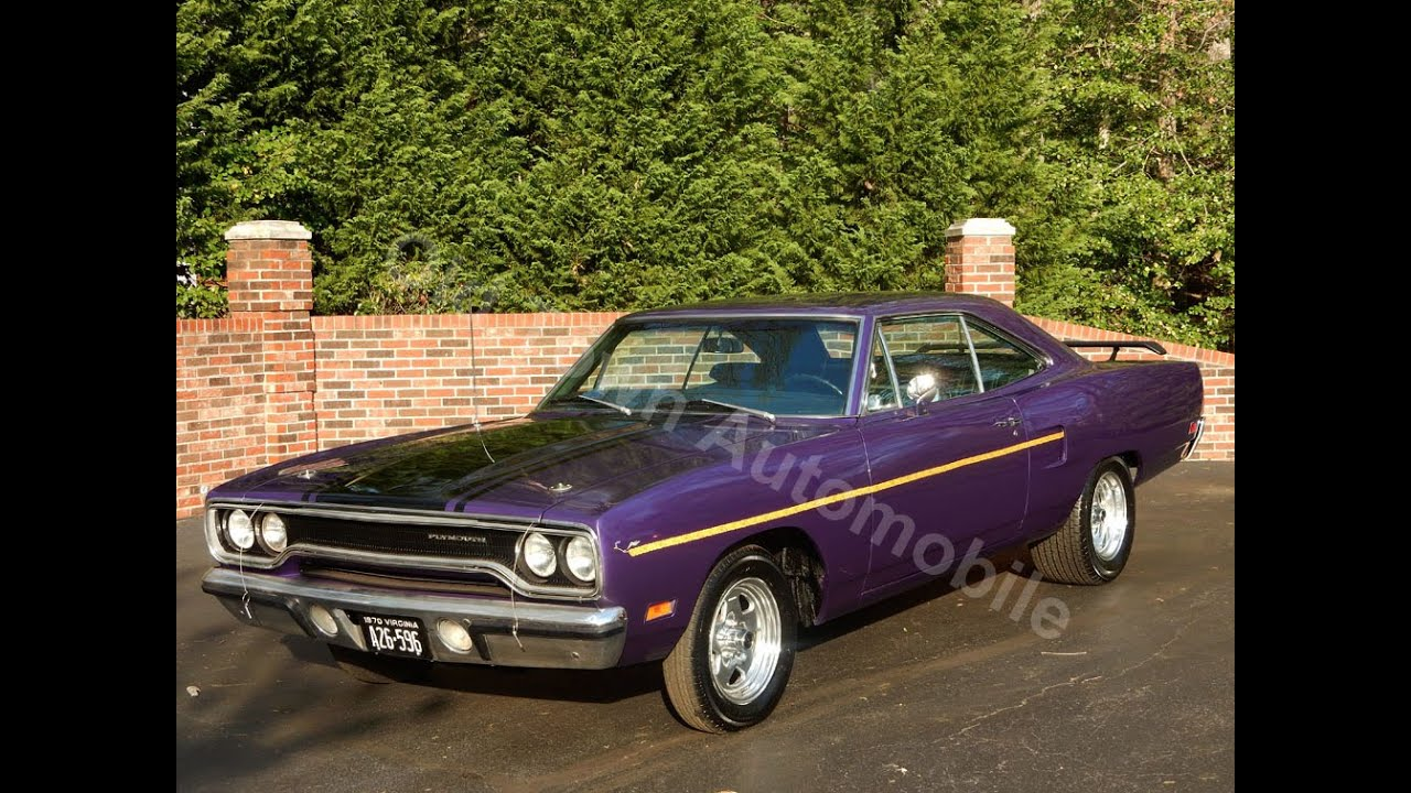 1970 Plymouth Satellite for sale Old Town Automobile in Maryland ...
