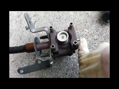 Mazda 6 code P1487, P2227 and to remove the EGR Valve