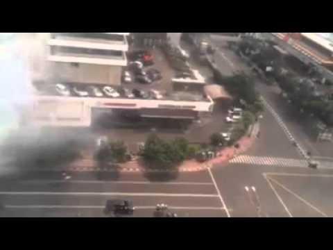 GRAPHIC: TERROR IN JAKARTA - ISIS Jakarta bomber suicide (Part 1)