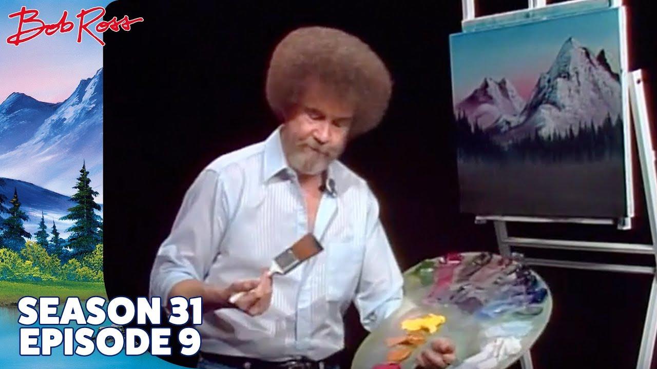 Bob Ross  Evergreen Valley (season 31 Episode 9)