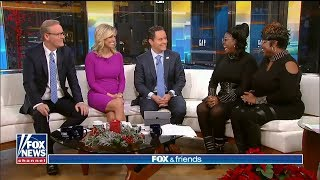 Diamond and Silk Full Interview on Fox and Friends........