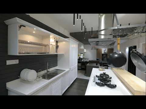 1000sft Kitchen Wardrobe Showroom Design Bangalore