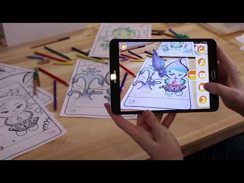 EXPO 2017 Astana - Augmented Reality coloring pages