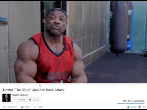 """Dexter Jackson clears up on the """" Anabolic Chicken """""""
